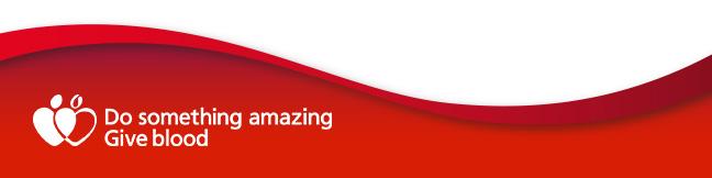 Do something amazing Give blood